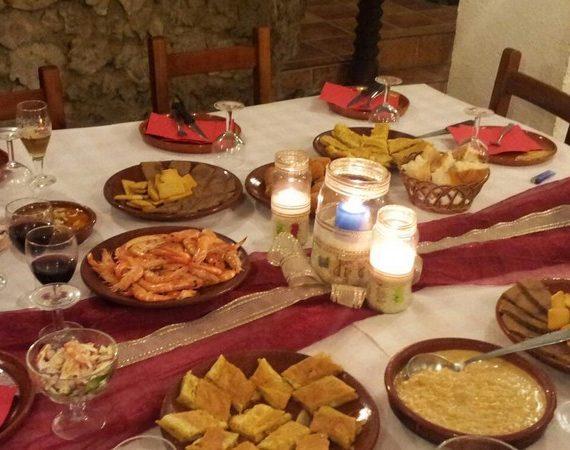 Cocina castellana en Bodega Los Arcos, Autilla del Pino (Palencia)